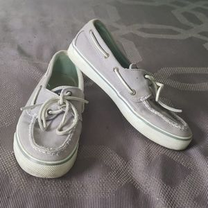 Gray Sperry Top-Siders